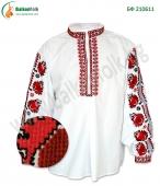 БФ 210611 Мъжка тракийска бродирана риза