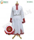 БФ 420911 Дълга бродирана женска риза от Прилеп