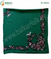 Зелена панагюрска кърпа (стамболка)
