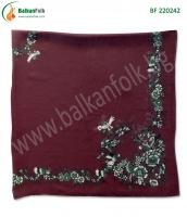 Червена панагюрска кърпа (стамболка)