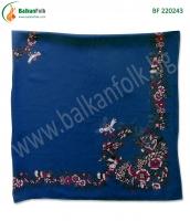 Синя панагюрска кърпа (стамболка) БФ 220243