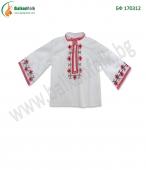 БФ 170312 Бебешка шопска риза за момче