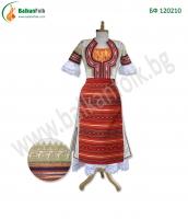 БФ 120210 - Женска кюстендилска носия (бяла сая)
