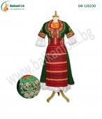 БФ 120230 - Кюстендилска носия (зелена сая)
