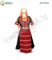 БФ 120220 - Женска кюстендилска носия (черна сая)